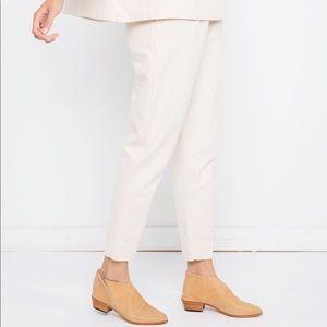 Elizabeth Suzann Natural Canvas Tilda Pants S-Tall